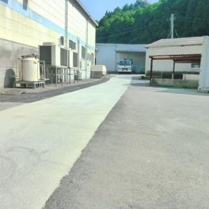 (株)都食品工場通路補修工事