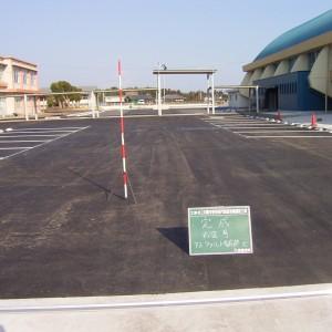大崎中学校舗装工事