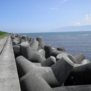 志布志港(若浜地区)防波堤(沖)消波ブロック製作工事(第2次)