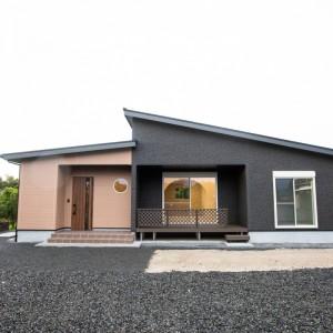 吹き抜け天井の長期優良住宅のお家